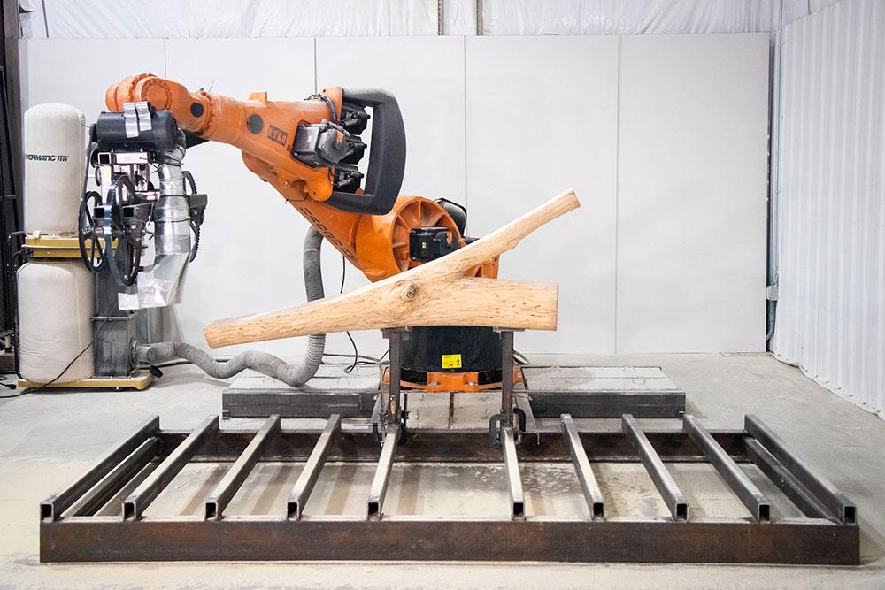 špeciálne opracovanie jaseňového dreva