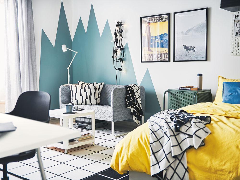 Čo sa dá v interiéri pomocou farby skryť, zdôrazniť či rozdeliť