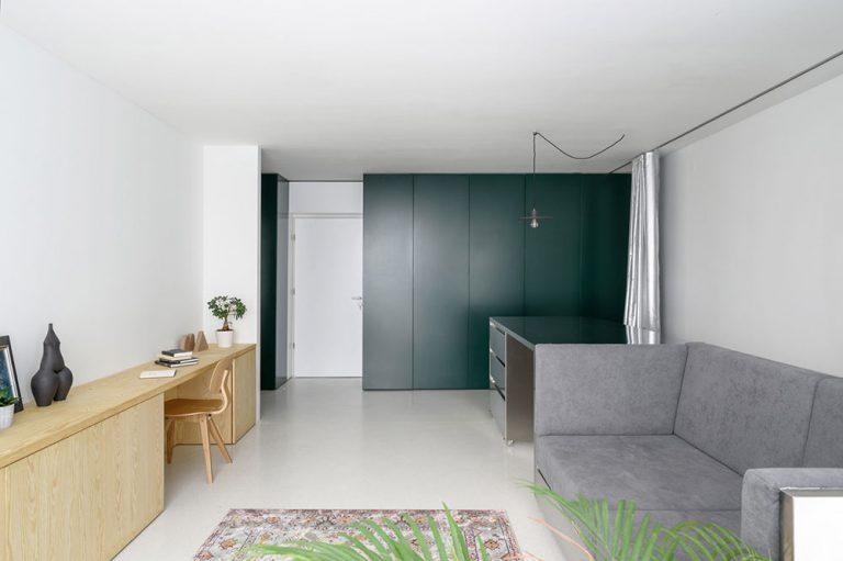 Malý a prispôsobivý byt pre troch? Pozrite, ako sa vie meniť!
