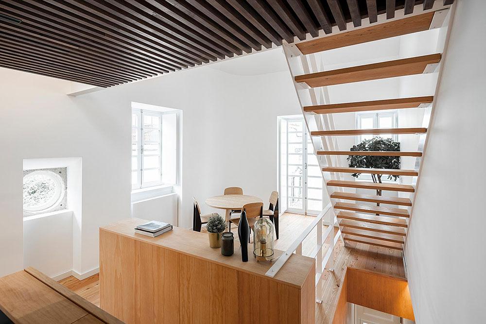 Rekoštrukcia domu Casa dos Oleiros