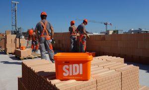 Malta HELUZ SIDI uponáhľa stavbu