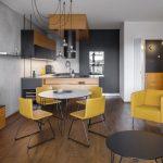 interiéru bytu v novostavbe bytového domu v Holešoviciach