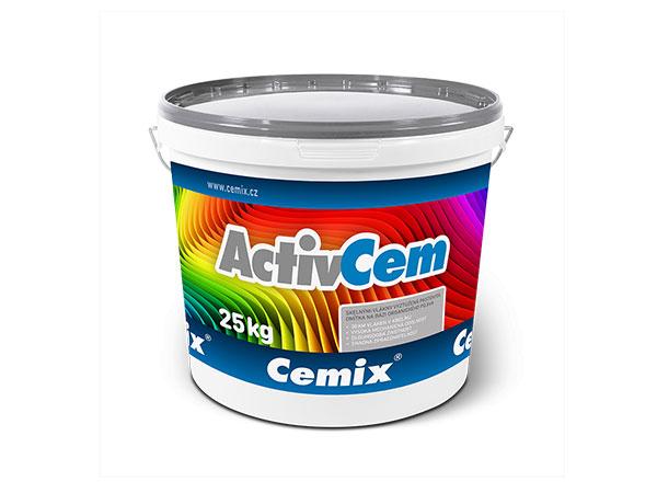 Fasádna pastovitá omietka Cemix ACTIVCEM R a Z