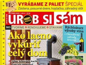 Nové číslo v predaji! Čo sa dočítate v októbrovom vydaní časopisu Urob si sám?