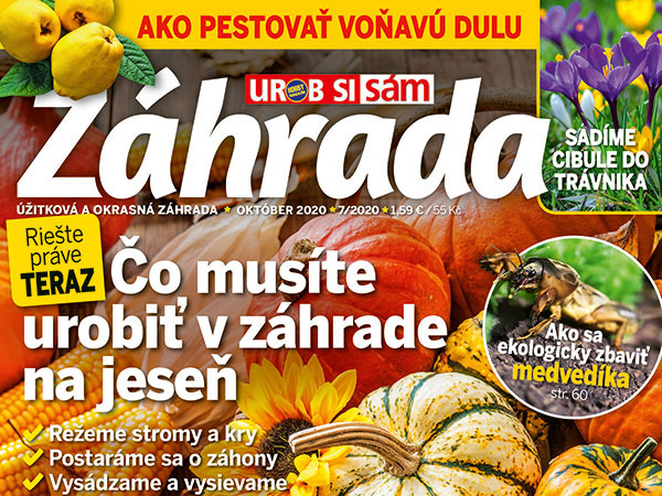 Záhrada Urob si sám 7/2020 v predaji!