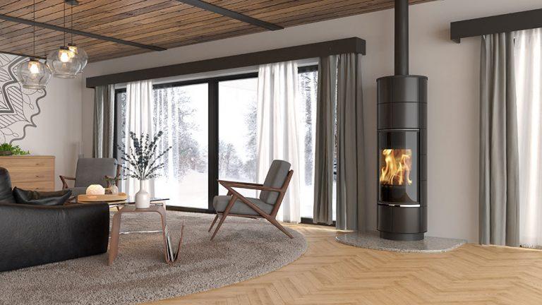 Moderné krbové kachle, ktoré prinesú teplo do Vášho domova
