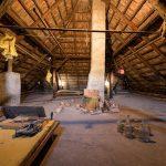 Podkrovie v pôvodnom dome.