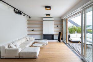 Premena bytu v podkroví obytného domu na pokojný a kultivovaný priestor
