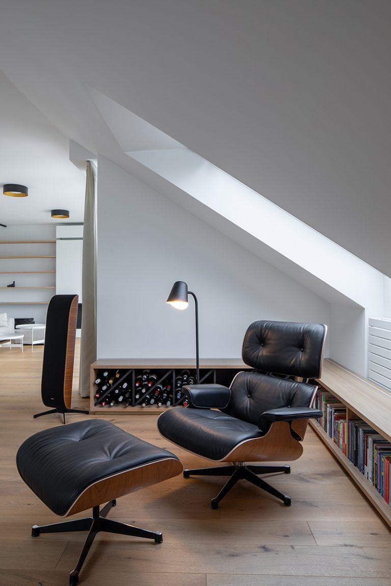 podkrovný byt Praha