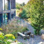 okolie záhrady pri dome