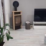 obývacia izba v modulovom dome