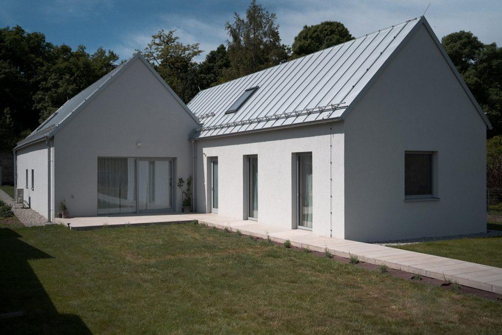 Drevodom vyrobený na Záhorí môže fungovať aj ako dva samostatné domy