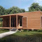 Ekologická mobilná drevostavba