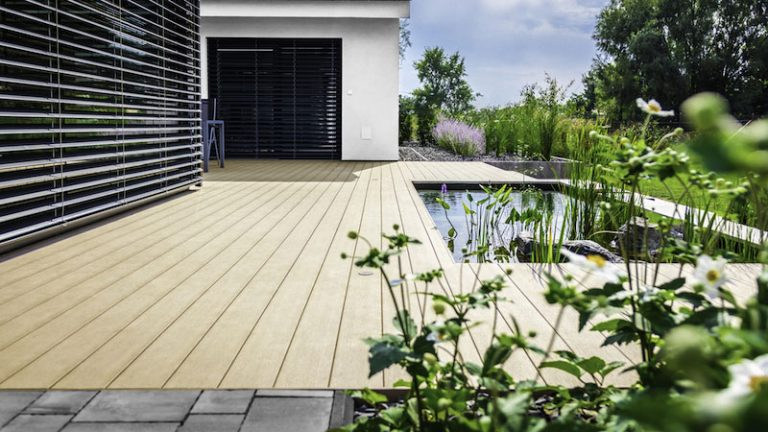 Terasa WoodPlastic® dokonale podčiarkuje vybraný vkus majiteľov
