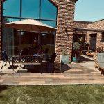 terasa domu susediaca so záhradou