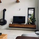 obývacia stena s kachlami