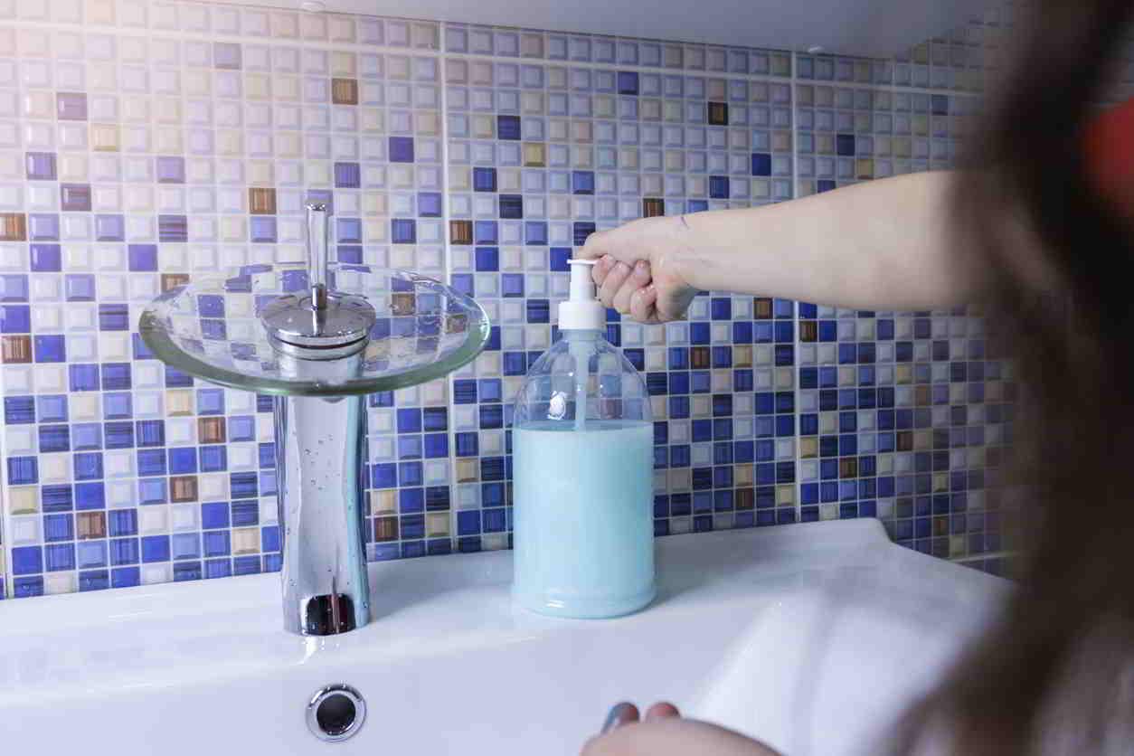 kúpeľňová mozaika