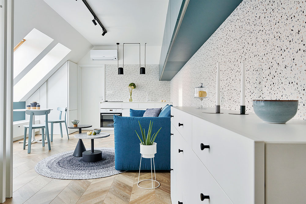 Dokonale premyslený jednoizbový byt v Trnave