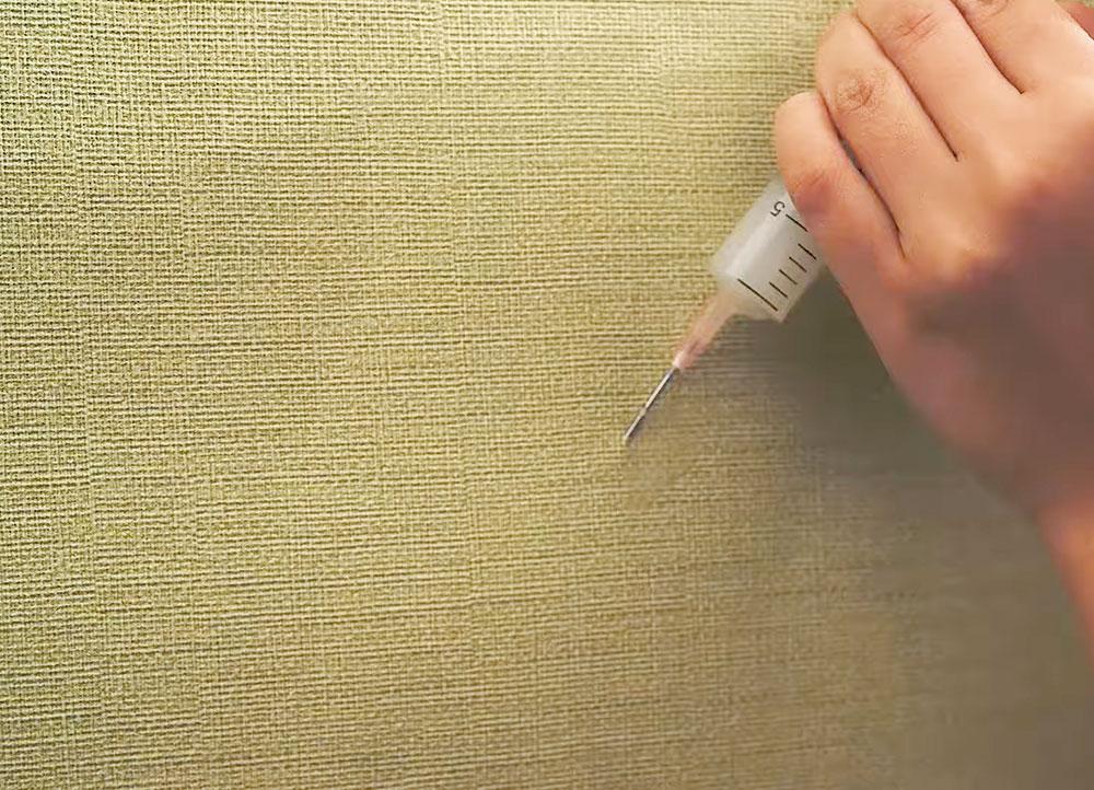 Lepenie vliesových tapiet