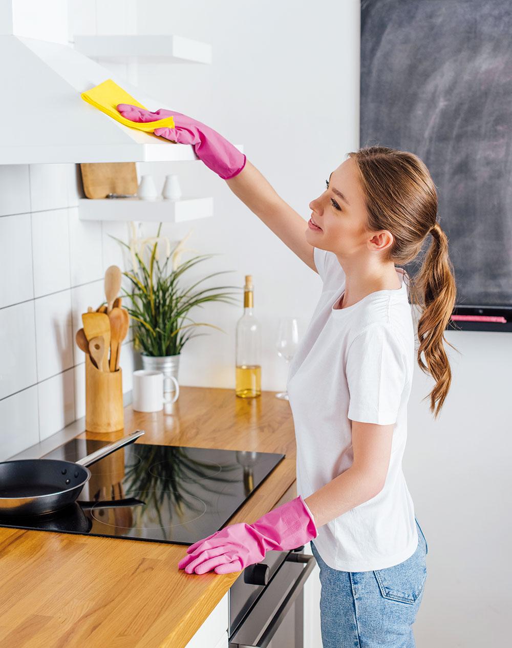 čistenie digestora