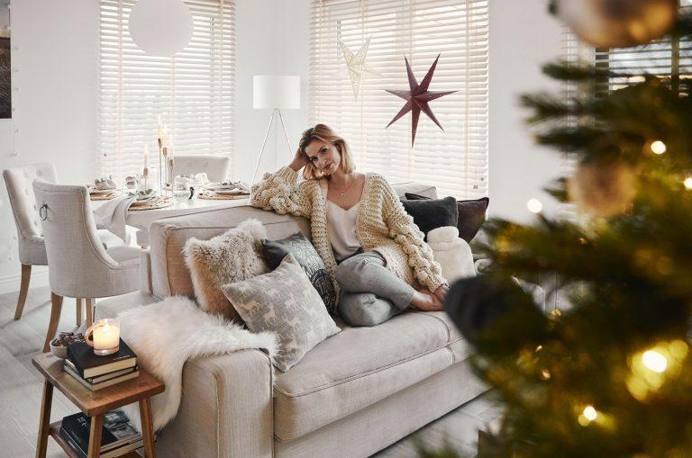 Ako si svoj dom pripravila na Vianoce známa blogerka