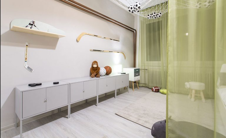 Zlaďte celý interiér podlahou s rovnakým dekorom