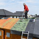 izolácia strech záhradného domčeka