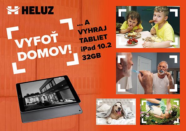 HELUZ ocení víťaznú fotografiu tabletom Apple iPad