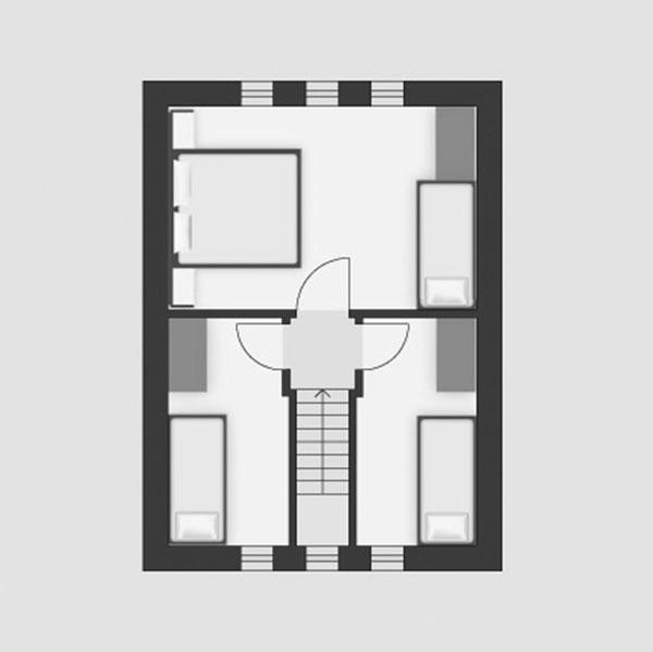 Projekt rodinného domu Theta 48