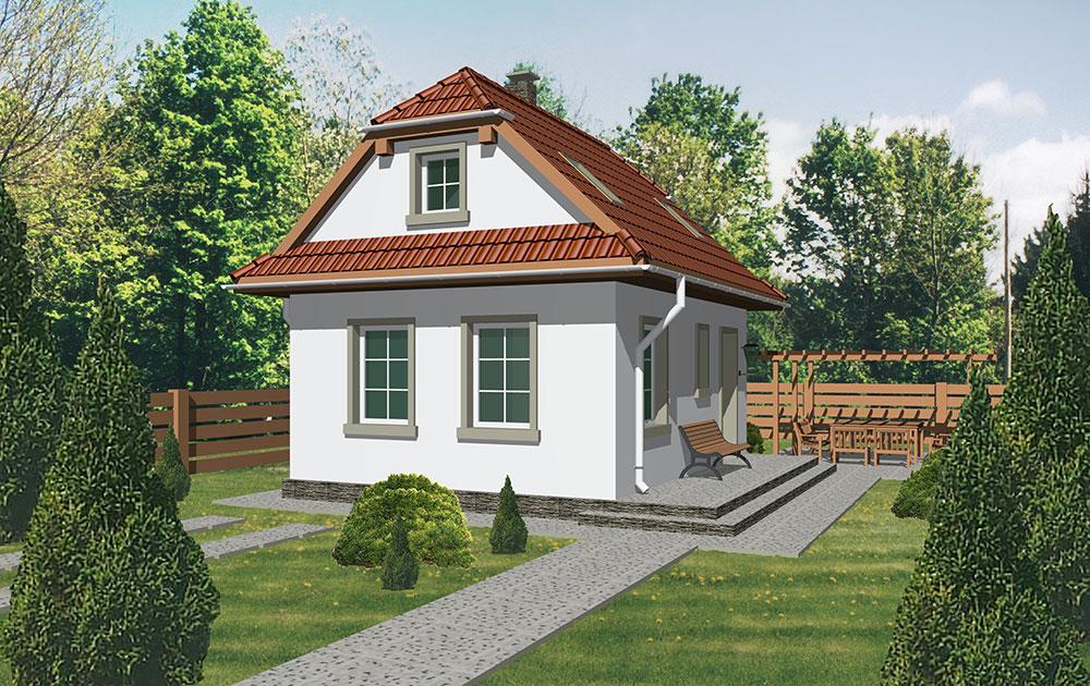 Projekt rodinného domu Theta 40