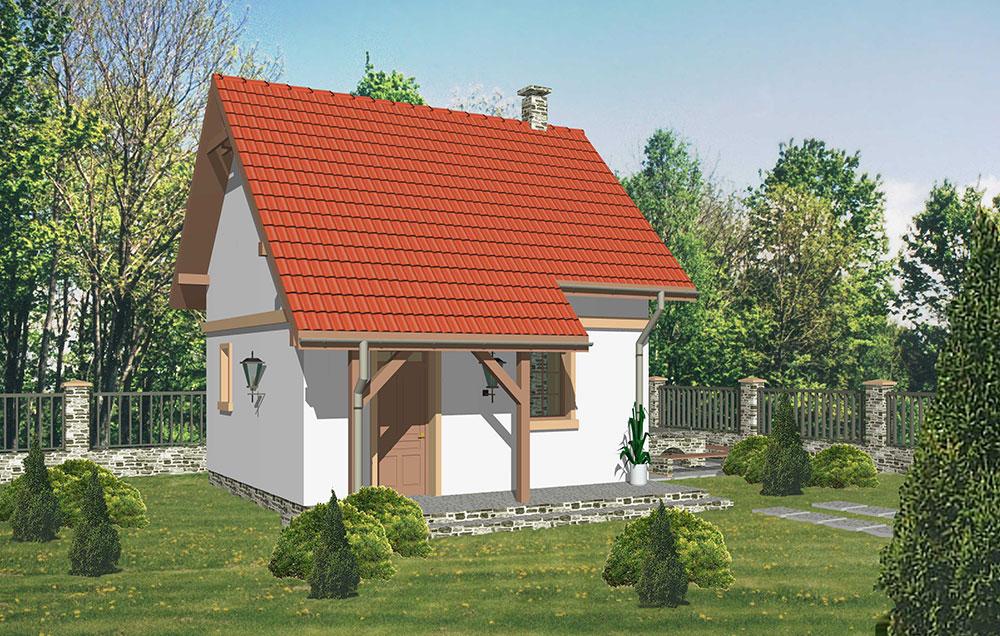 Projekt rodinného domu Theta 46