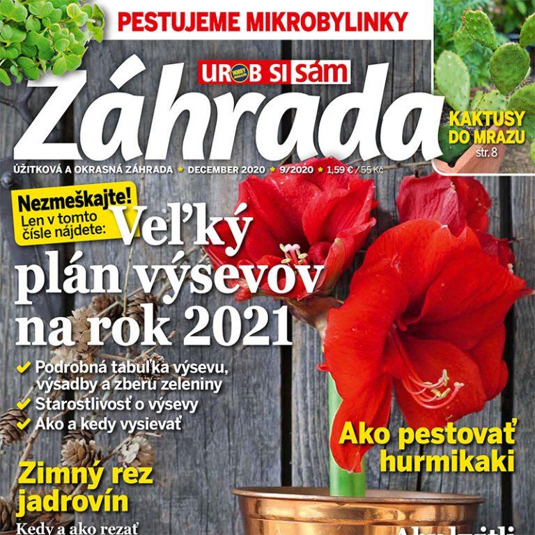 Záhrada Urob si sám 9/2020 v predaji!