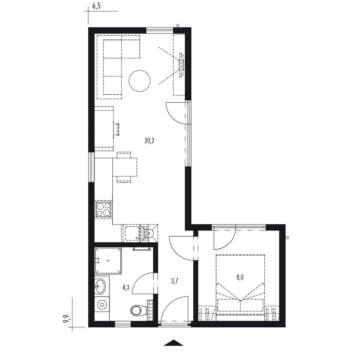 Modulový rodinný dom Double 2L