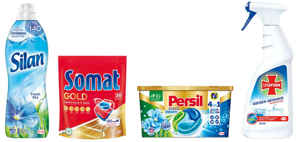 balíček produktov Henkel pre čistú domácnosť