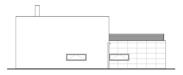 Projekty rodinných domov Black & White small