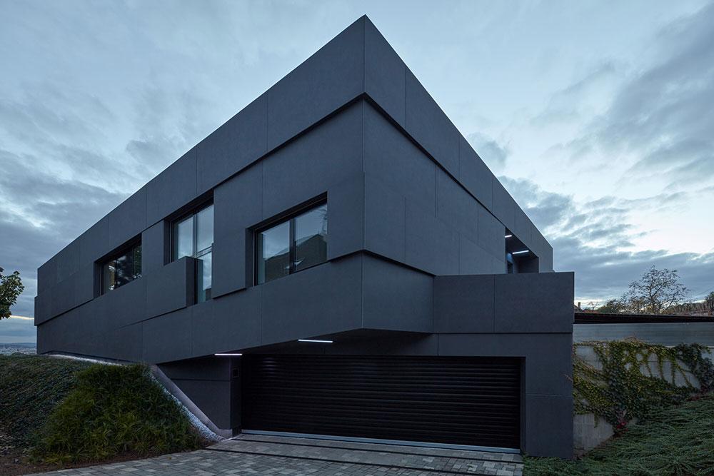 moderná vila v Prahe