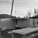 stavba nízkoenergetickej jednopodlažnej drevostavby