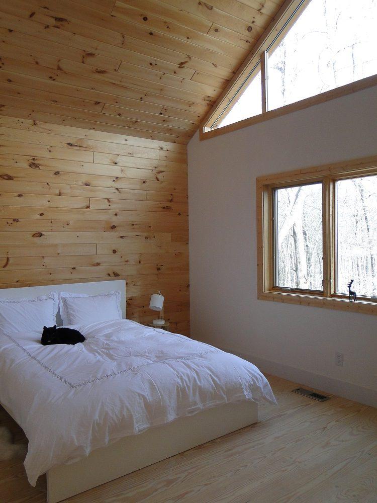 spálňa na chate
