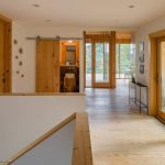 Drevená chata interiér