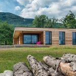 nízkoenergetická jednopodlažná drevostavba
