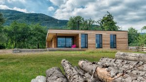 Ako si architekt postavil vlastný nízkoenergetický dom z prírodných materiálov
