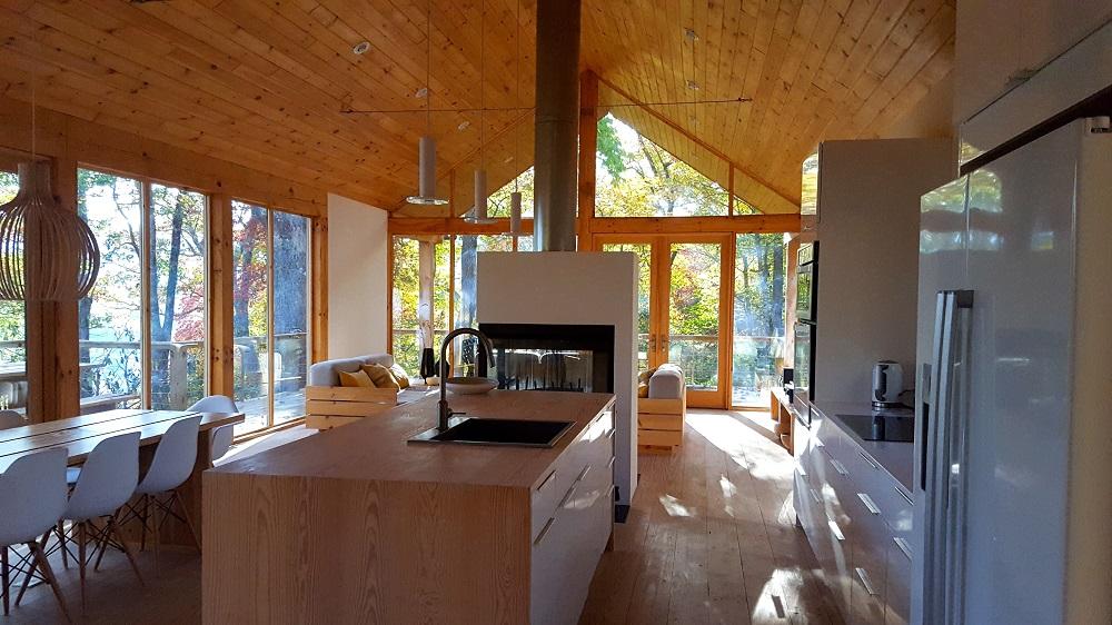 kuchyňa na chate