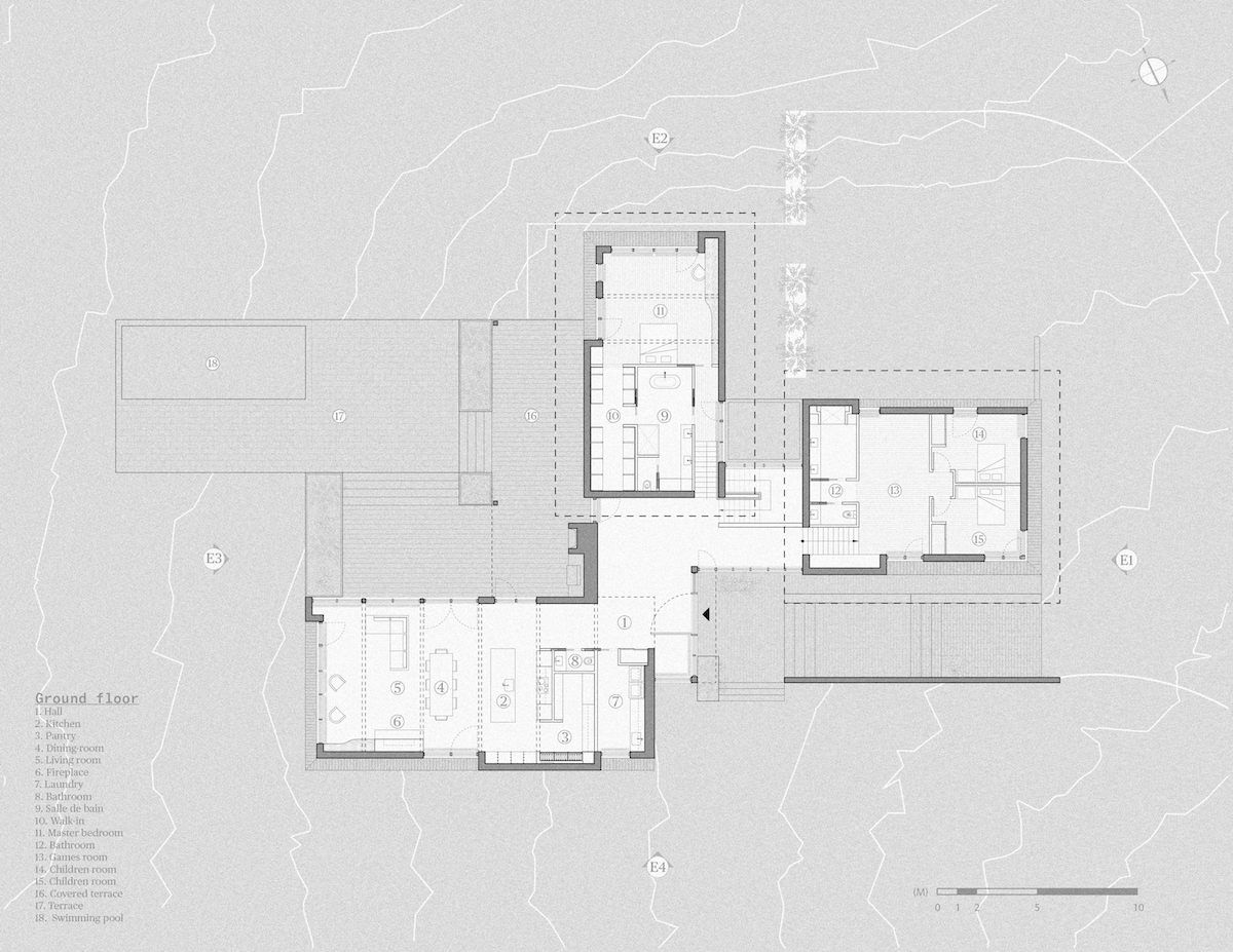 Rodinná usadlosť Maison Koya