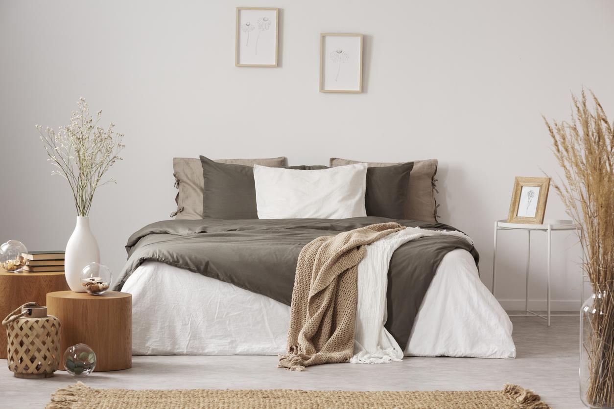 Béžová spálňa