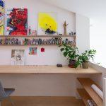 viacúrovňový priestor premenený na tri bytové jednotky