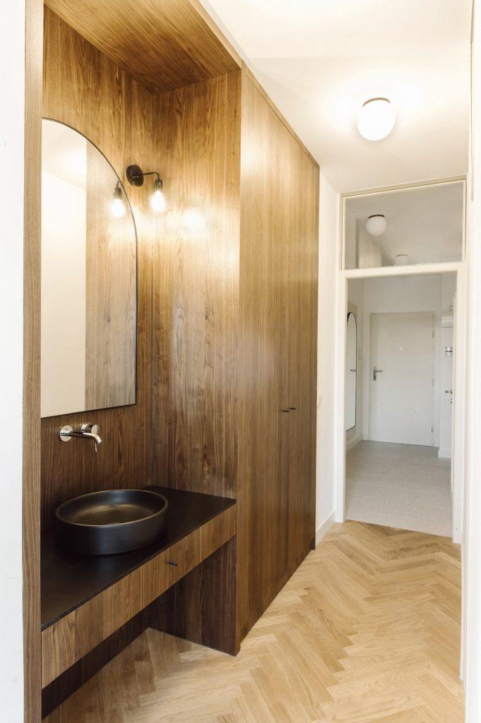 zrekonštruovaný historický byt v Prahe