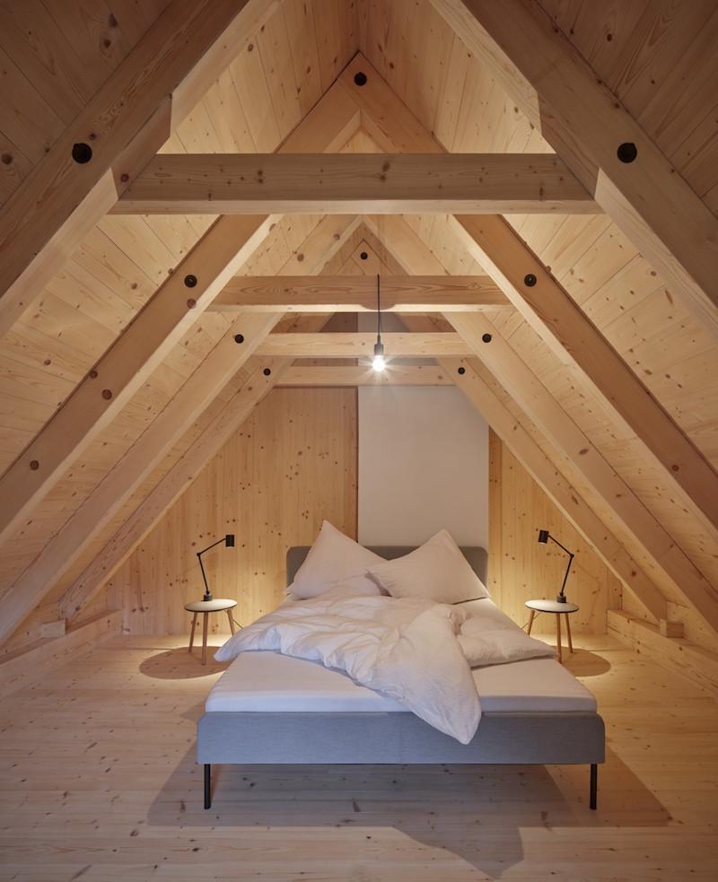 Spálňa v podkroví