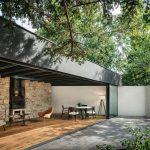 Otvorený záhradný domček