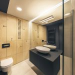 Moderná kúpeľňa s toaletou