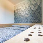 Obklad steny v spálni